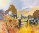 Country Scene with Gate