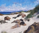 North Beach Iona Towards Mull Limited Print