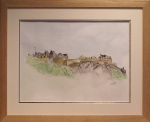 edinburgh castle framed